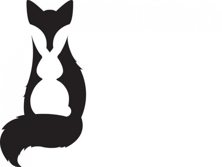 que ves primero zorro conejo