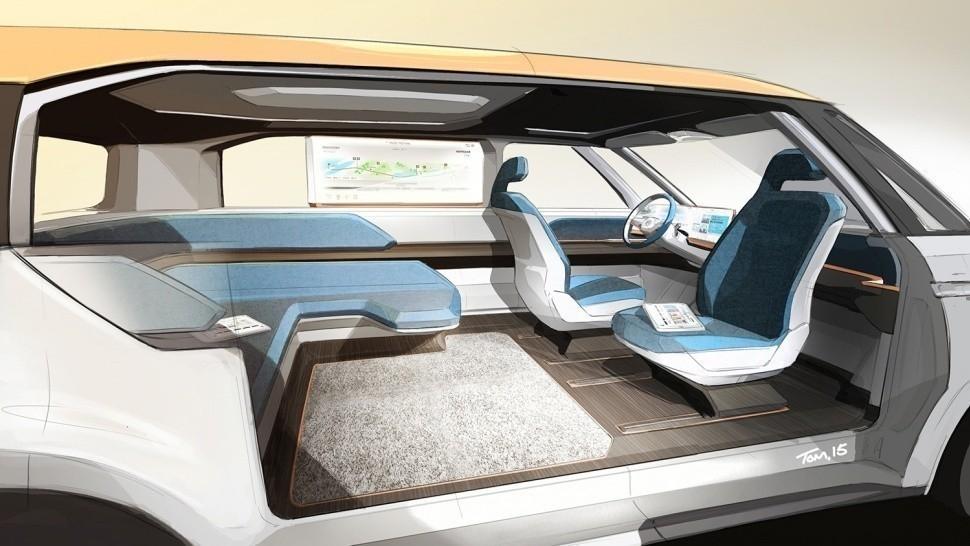 Volkswagen  eléctrica- presentación - interiores