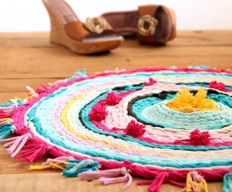 alfombra tela
