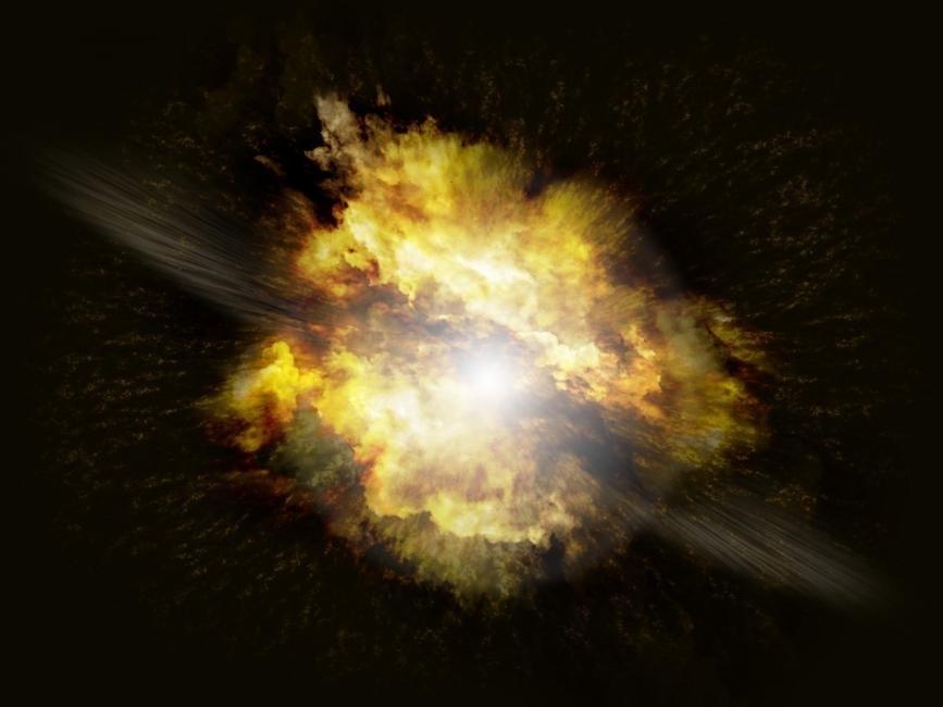 Las células del cuerpo emiten luz al morir al igual que las supernovas