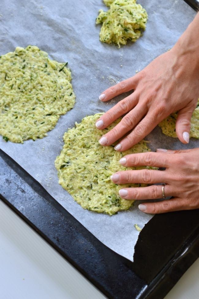 tortillas calabacín armado