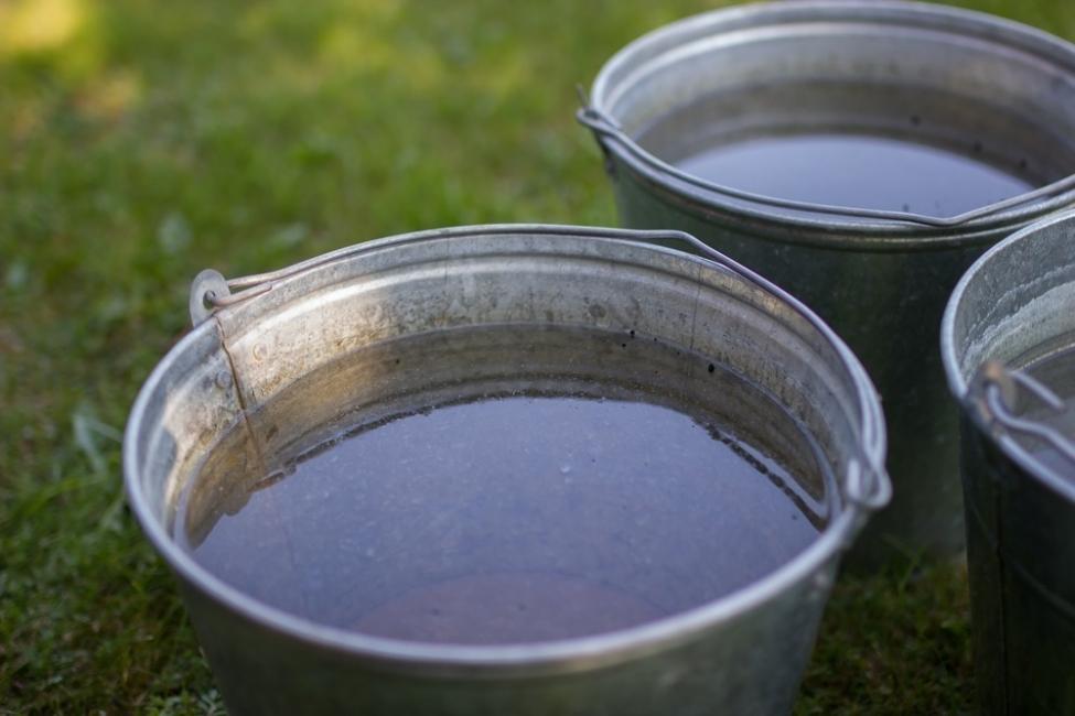 agua con vinagre