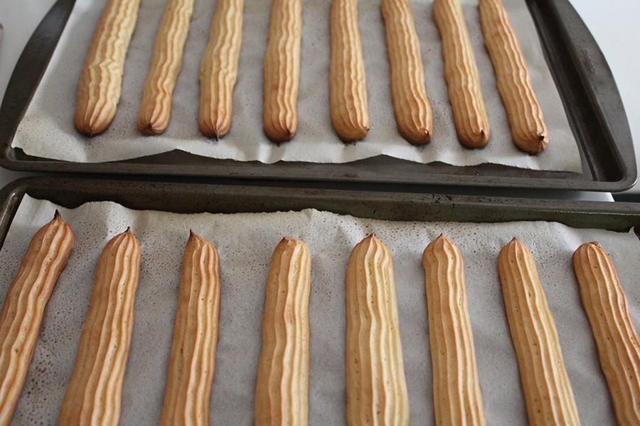 churros caseros al horno