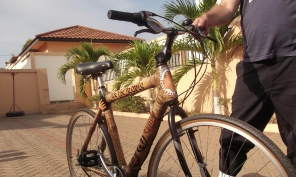 Bicicleta de bambú para estudiantes africanos- historia
