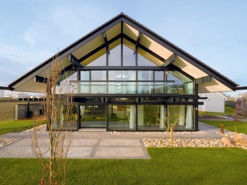 Casas estilo alemán, modulares y autosustentables- huf haus
