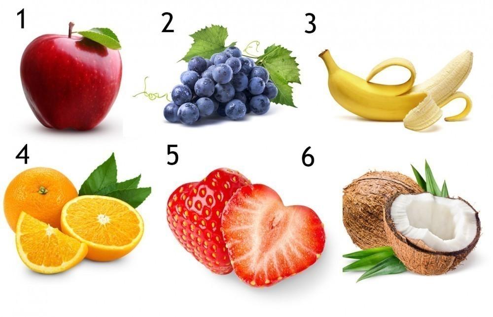 test frutas