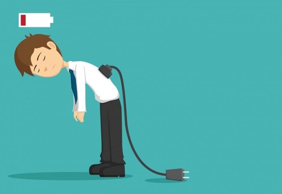 agotamiento falta de energía