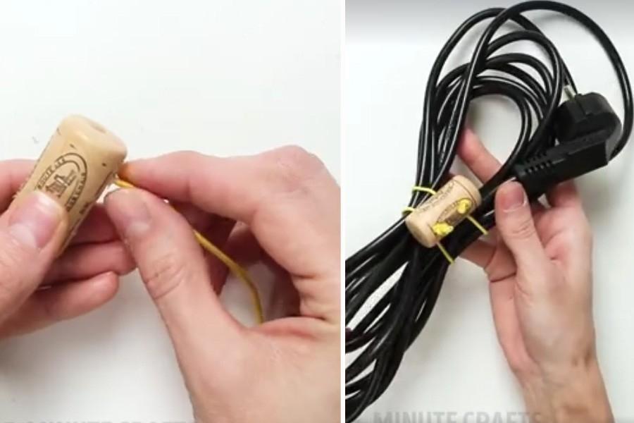 cosas que puedes hacer con un corcho-cables