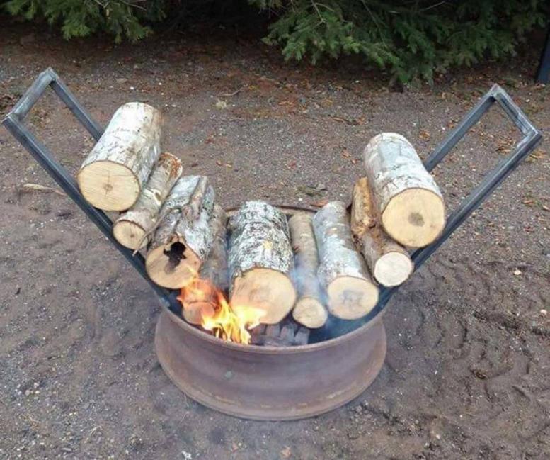 Cómo hacer un fuego que se autoalimente durante muchas horas- otro modelo