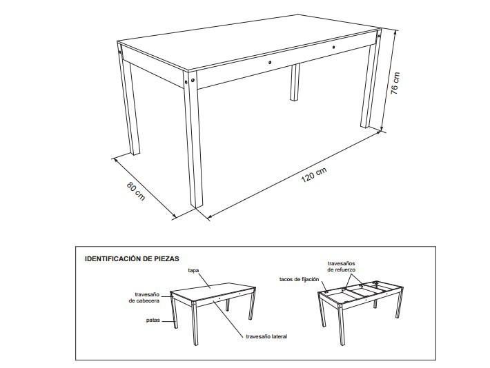 mesa- esquema- construir