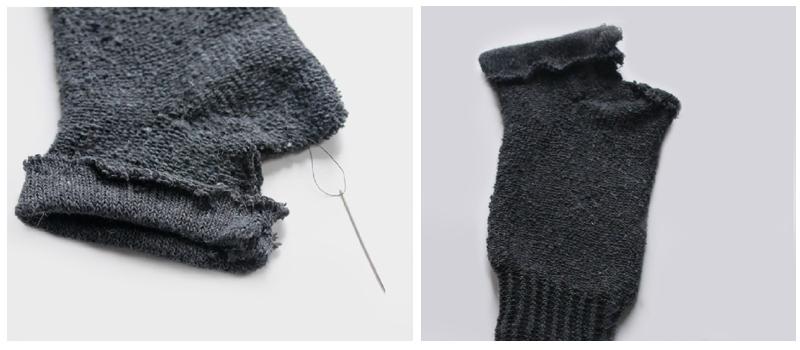 Cómo hacer guantes- paso 3