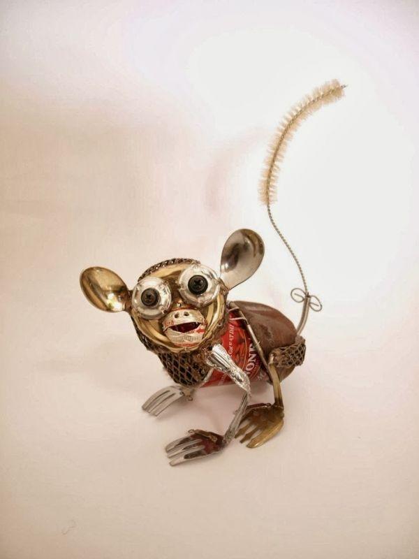 Natsumi Tomita Esculturas Recicladas 10