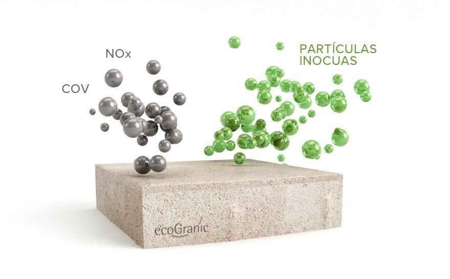 Un suelo que transforma la contaminación en aire puro