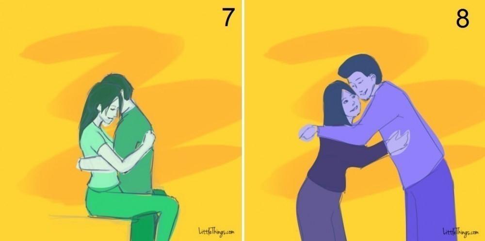significado de los abrazos- pareja