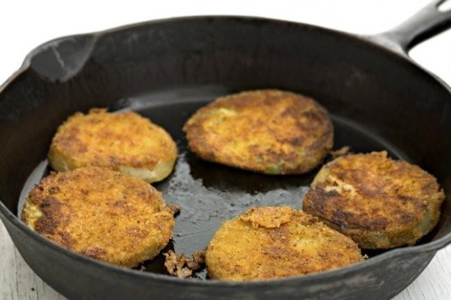 Tomates verdes fritos receta