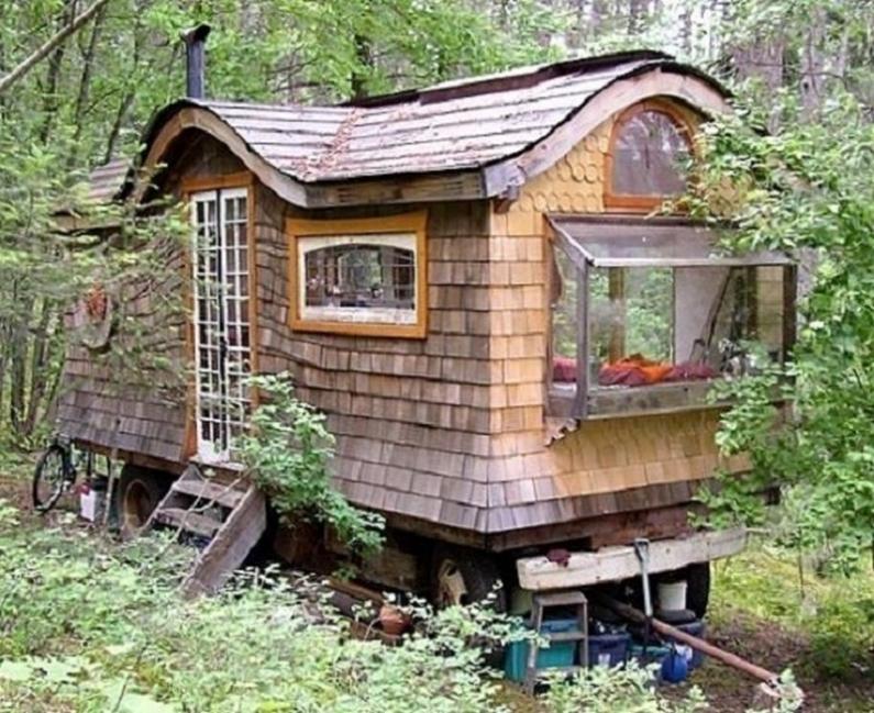 casa pequeña - viajera