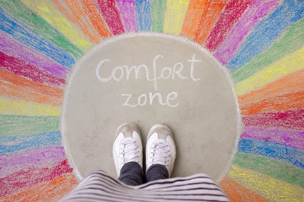 zona de confort - dentro