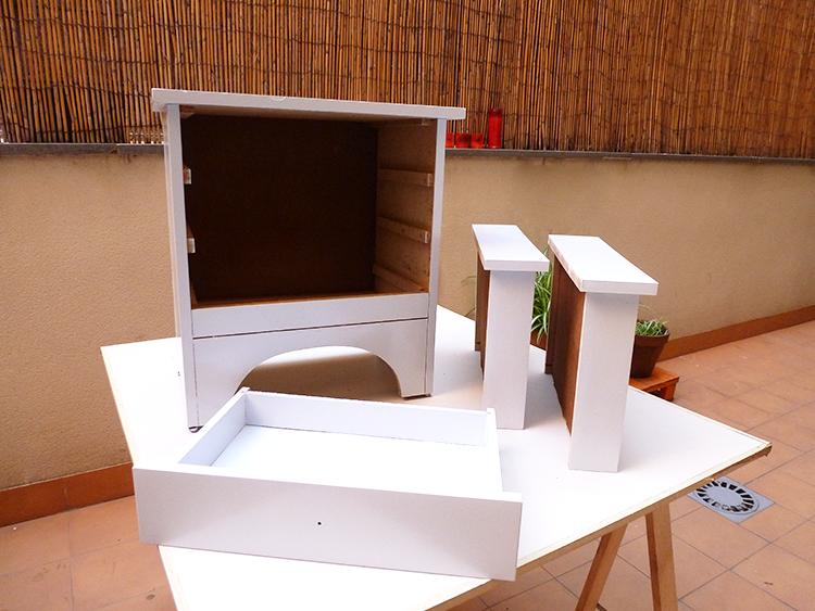 Cómo restaurar un mueble con estilo azteca- paso a paso