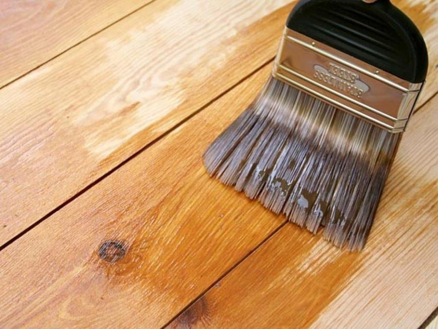 Pintura casera - aceite de linaza