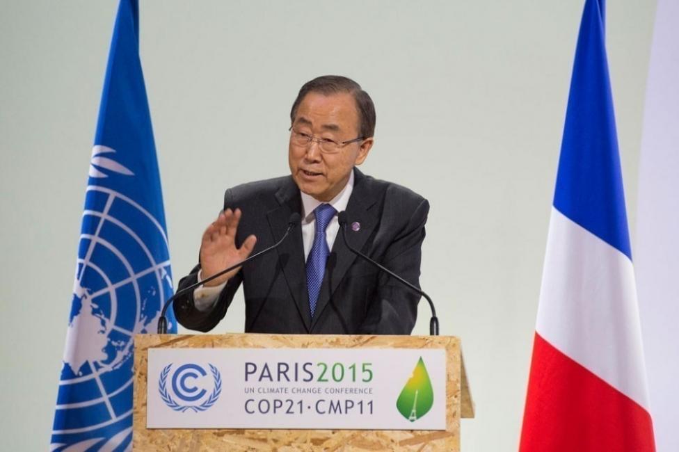 COP21 Acuerdo - Ban Ki Moon