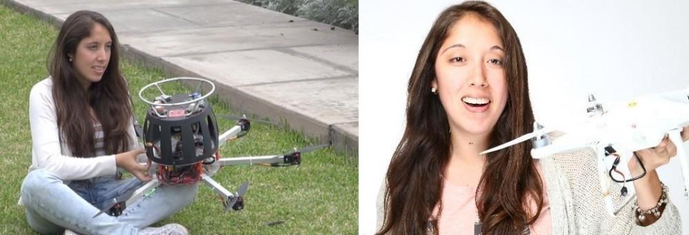 Dron que detecta la contaminación en el aire - Monica Abarca