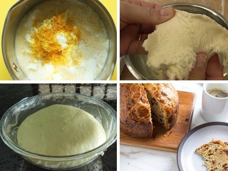pan dulce vegano paso a paso