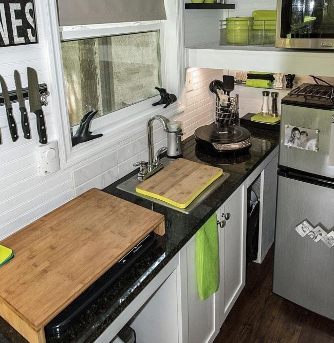 Diminutos hogares felices- cocina