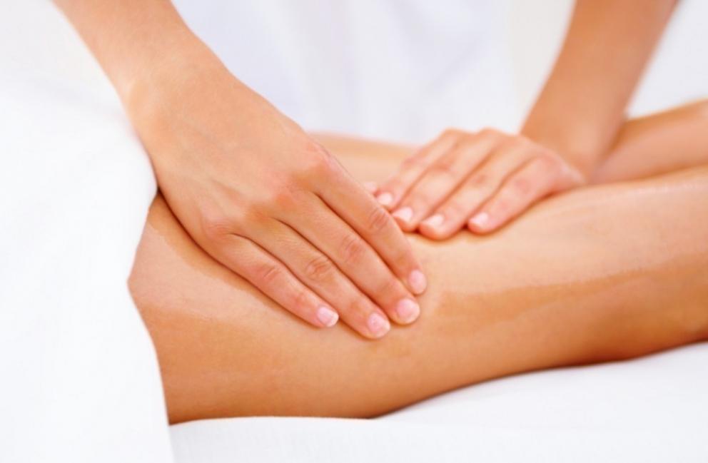 Cómo afinar y reducir las piernas- masaje reductor
