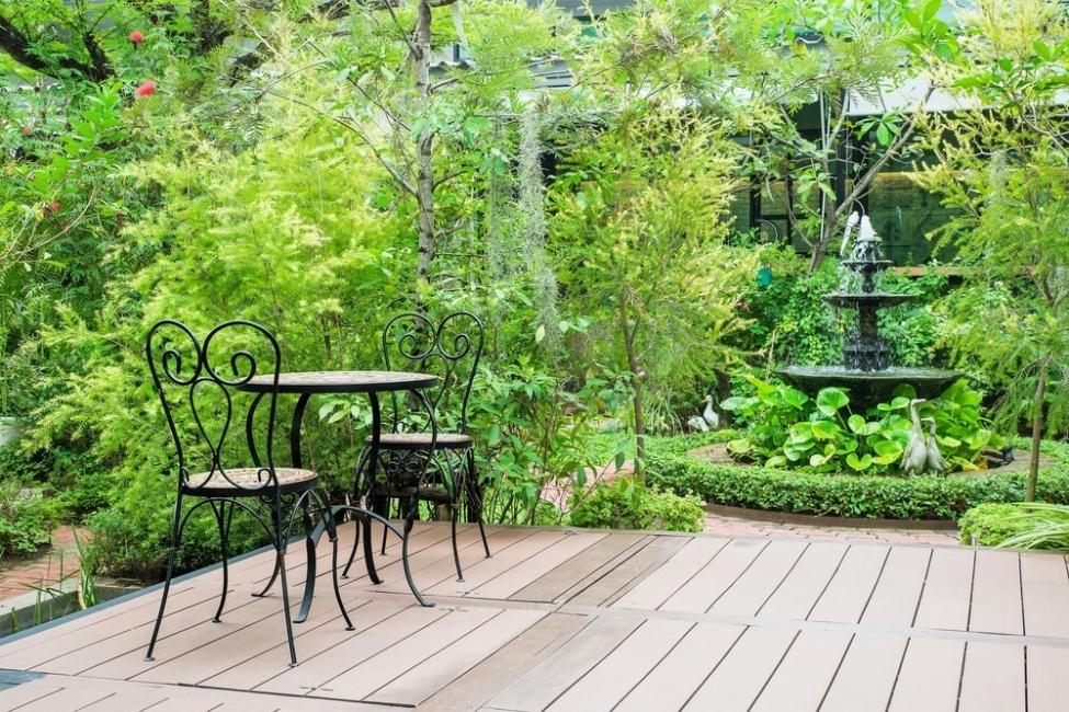 Consejos del Feng Shui - terraza y jardín