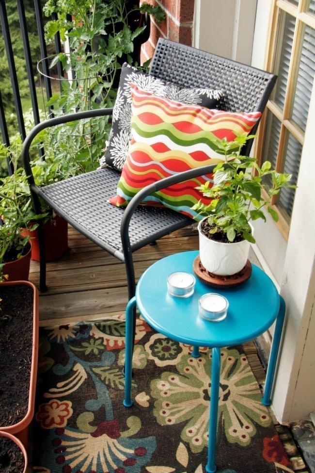 terraza de colores- combinación