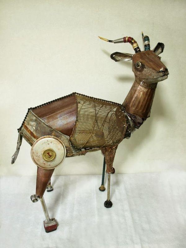Natsumi Tomita Esculturas Recicladas 11