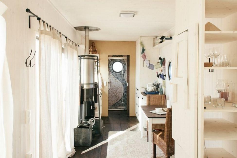 Una encantadora casita en muy pocos metros cuadrados- entrada