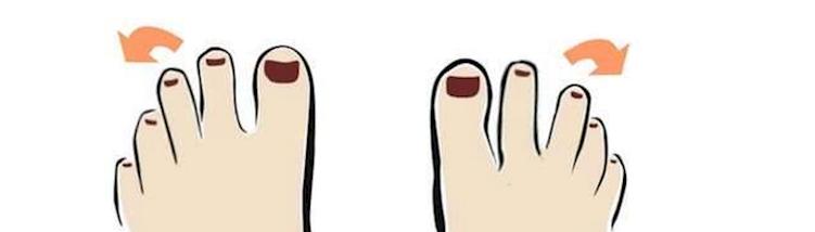 dedo inclinado
