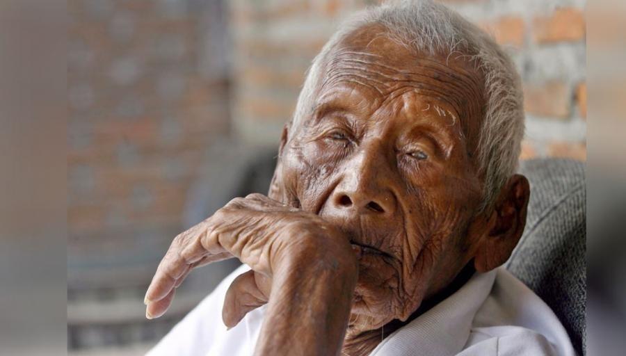 Sodimejo hombre más viejo del mundo