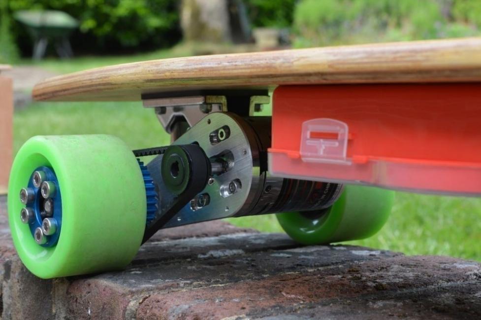 Longboard eléctrico