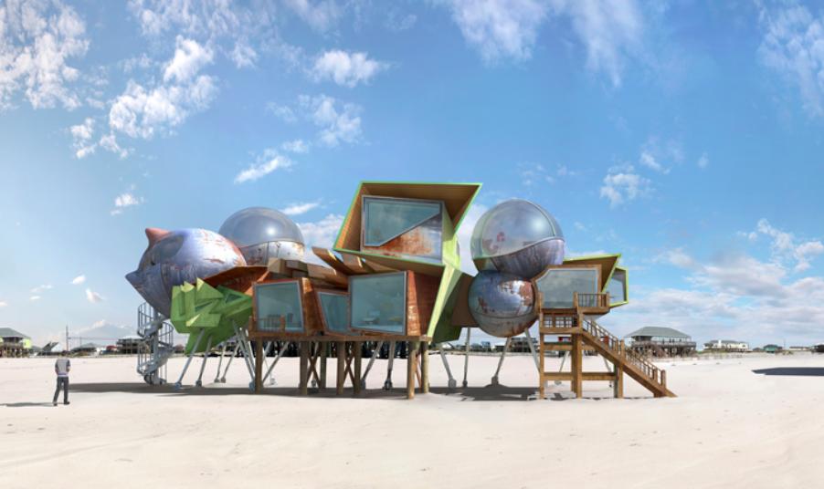 Dionisio Gonzáles - Arquitectura para la resistencia - edificios resistentes a huracanes
