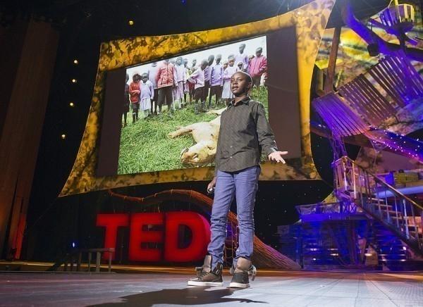 Hoy Richard da charlas TED sobre superación personal