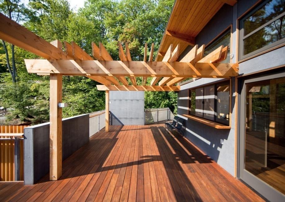 casa flotante- terraza