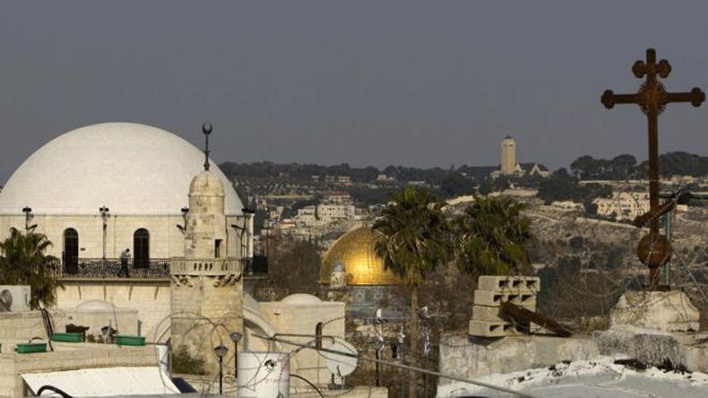 Jerusalén es disputada por tres religiones monoteístas