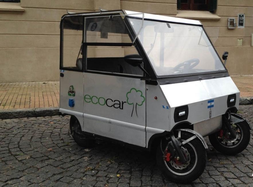 el auto eléctrico más pequeño de América Latina- Ecocar
