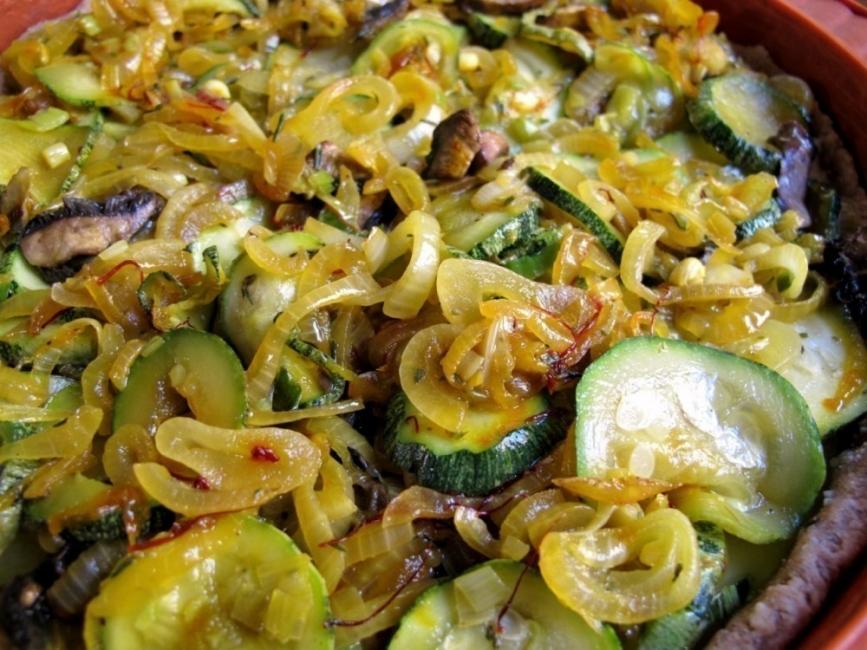 Tarta multicereal de verduras y ricota- terminada