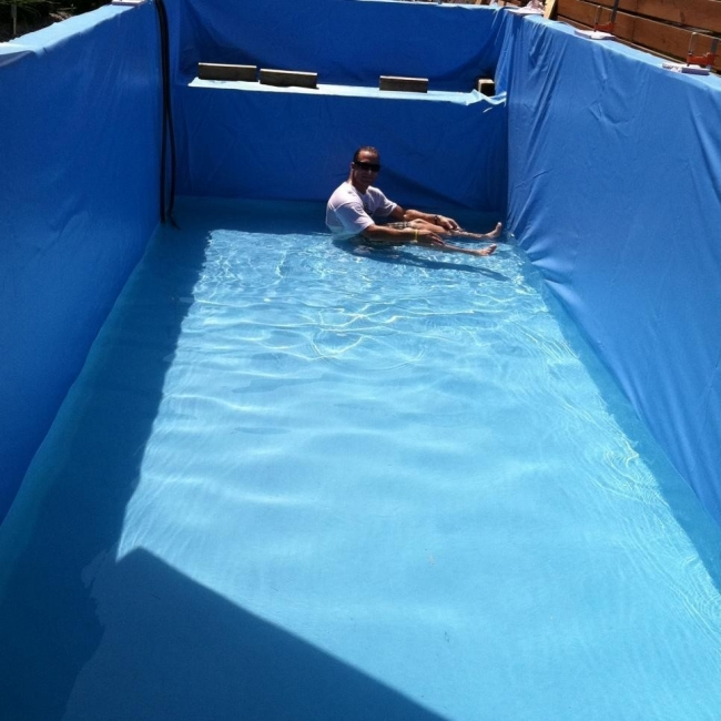 cómo hacer una piscina reciclando un contenedor
