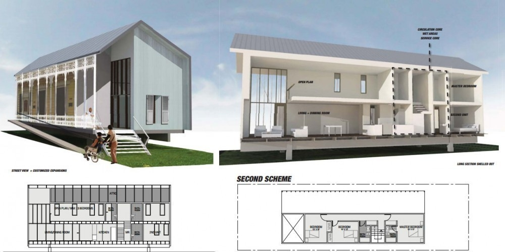 planos gratuitos para casas sustentables -planos de casas