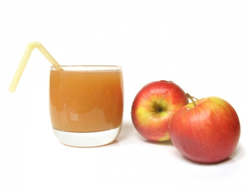 colon irritable y qué alimentos es conveniente evitar- jugo de manzana