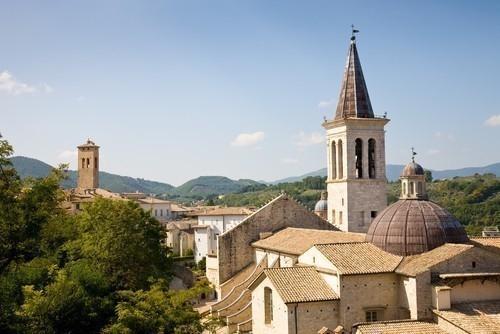 Spoleto es una ciudad muy reconocida en su aspecto histórico
