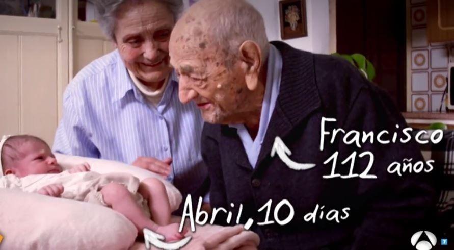 Francisco hombre de 112 años