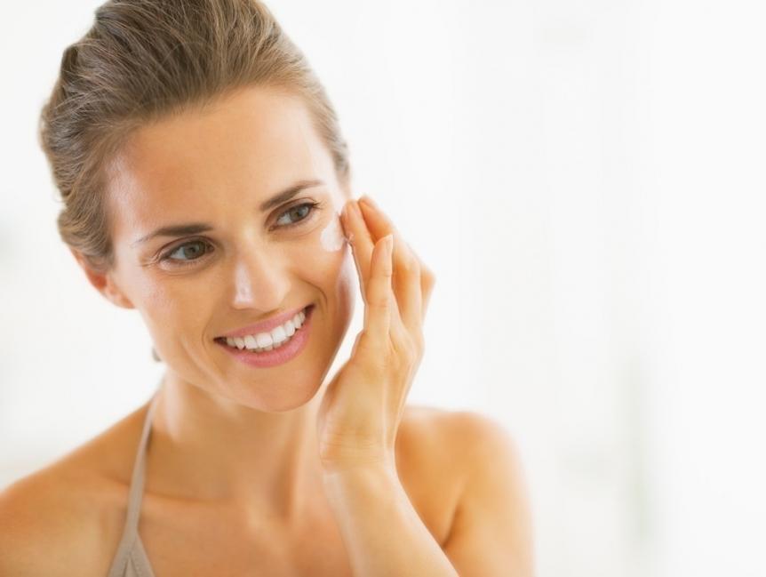 crema casera para las arrugas y cicatrices - aplicación