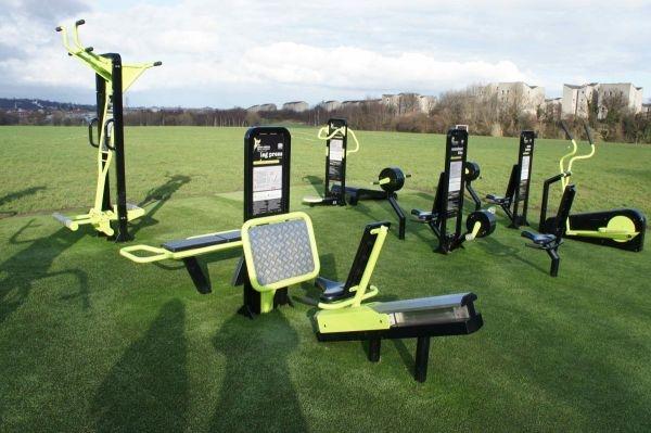 The Great Outdoor Gym Company Gym, TGO, pre launch outdoor gym in Edinburgh
