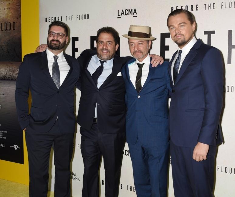 DiCaprio también realizó un documental sobre el cambio climático