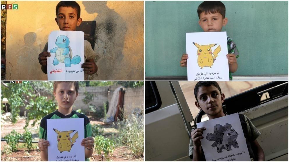 pokemon go por siria